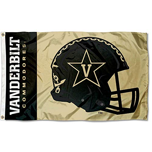 College Flags and Banners Co. Vanderbilt Commodores Football Helmet Flag