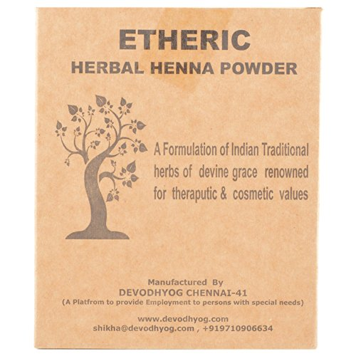Etheric Herbal Henna Powder (200 gm) ()