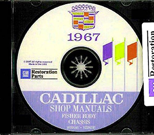 FULLY ILLUSTRATED 1967 CADILLAC FACTORY REPAIR SHOP & SERVICE MANUAL CD INCLUDES Calais, De Ville, Sedan De Ville, Coupe De Ville, Fleetwood Sixty-Special, Eldorado, Fleetwood Brougham, Fleetwood 75 and Limousine. (Calais Fuel Pump)