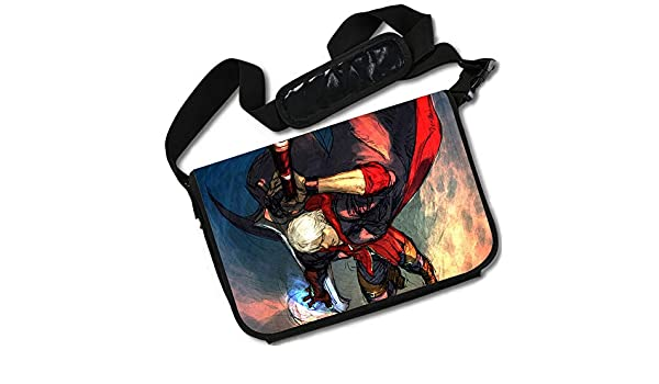 Devil May Cry-11 15 x 11 MB ROUNDMEUP Devil May Cry Anime Stylish Messenger Bag//Lap Top Bag Inches