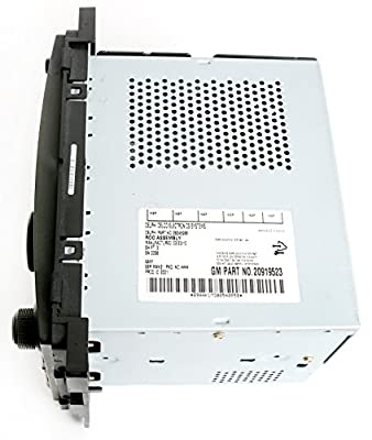 Chevy HHR 2009-2011 Radio AM FM CD Player w Aux Input Part Number 20919523 - US8 by GM
