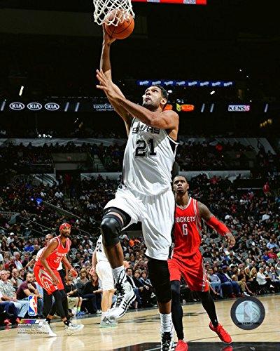 (NBA Tim Duncan San Antonio Spurs 2015-2016 Action Photo (Size: 8