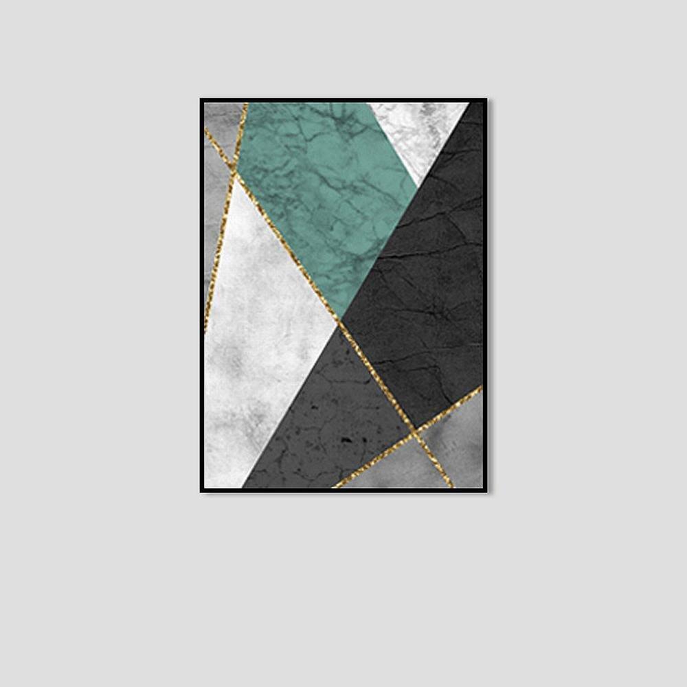 precios ultra bajos DIDIDD Cuadro Decorativo Abstracto Gráfico Creativo Creativo Creativo Simple Encajonado,F,50  70cm  la calidad primero los consumidores primero