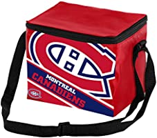 Montreal Canadiens Big Logo Stripe 6 Pack Cooler