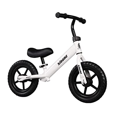 Balancing Car for Children 1-3-6 Years of Age Car Slide for Children No Pedal Yo Car Auto- Walking Scooter Child (Color : White) (Color : White) : Baby
