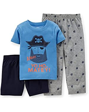 Carter's 3-Piece Pirate Pajama Set (12 Months)