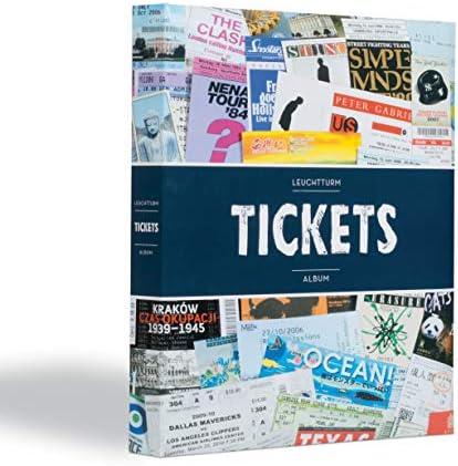 Leuchtturm Album für 156 Eintrittskarten und Tickets