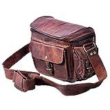 Crafat Real Leather camera bag Women camera Satchel Travel Camera Case Women Purse 9x7x5