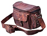 QualityArt Real Leather camera bag Women camera Satchel Travel Camera Case Women Purse 9x7x5