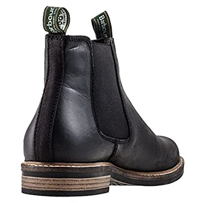 Barbour FARSLEY Ankle Boots/Boots Men Black Mid Boots 2