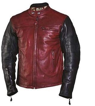 Diseño de Roland Sands Ronin chaqueta de piel Para Hombre ...