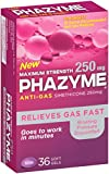 Best Gas Relief Pills - Phazyme Maximum Strength Gas Relief, 36 Softgels Review
