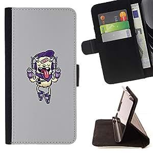 Momo Phone Case / Flip Funda de Cuero Case Cover - Aerosol pintura Monster;;;;;;;; - Sony Xperia Style T3