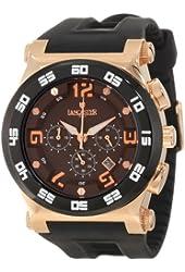 Lancaster Men's  OLA0347RG/NR Barreto Brown Dial Watch Model