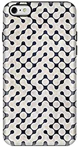 Stylizedd Apple iPhone 6 Plus Premium Dual Layer Tough case cover Gloss Finish - Connect the dots (White) I6P-T-179