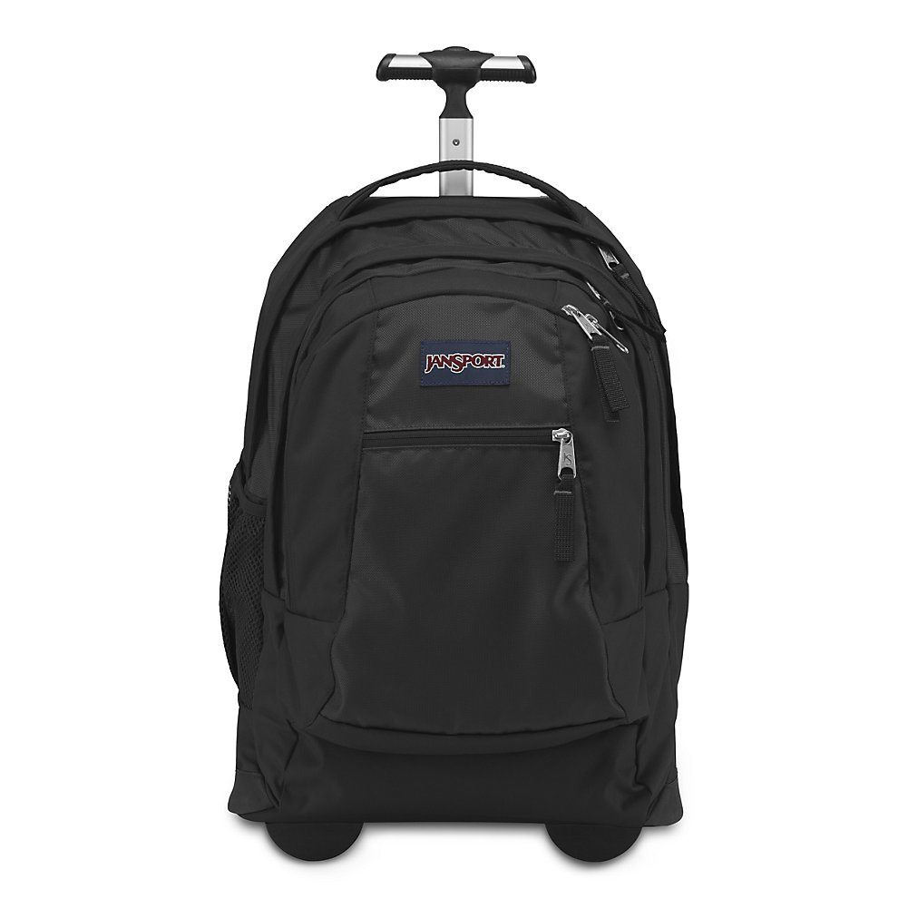 Jansport Driver 8 Core Series Wheeled Backpack, Black (Past Season) by JanSport