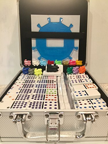 MexicanTrainFun Premium Domino Set- Double 15 Dots