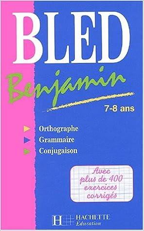 Book Bled benjamin, 7-8 ans