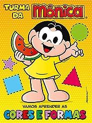 Turma da Mônica - Vamos aprender as cores e formas
