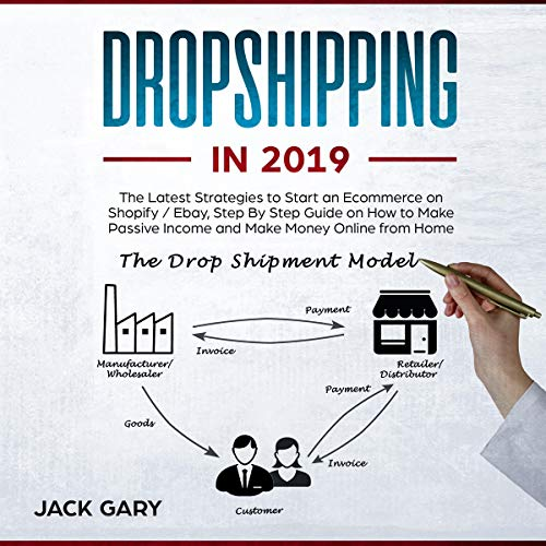 Dropshipping in 2019: The Latest Strategies to Start an Ecommerce on Shopify / Ebay, Step by Step Guide on How to Make Passive Income and Make Money Online from Home