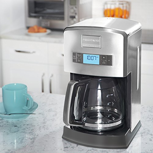 Frigidaire Professional Pro-Select Digital 12-Cup Coffee Maker, Stainless Steel FPAD12D7PS ...