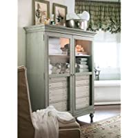 Paula Deen Home The Bag Ladys Cabinet, Spanish Moss
