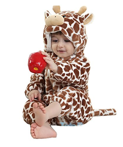 Joyhy Baby Girls Boys Toddlers Romper Cute Animal Costume Outfit Giraffe 100]()
