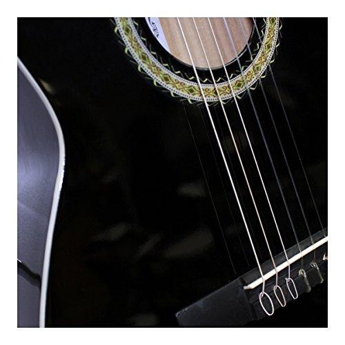 Miguel Almeria Guitarra de concierto Negro | Guitarra clásica | principiantes Guitarra: Amazon.es: Instrumentos musicales