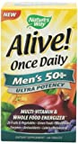 Nature's Way Alive Once Daily Men's 50+ Multi Ultra Potency, Tablets, 60-Count, Health Care Stuffs