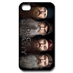 SUUER Duck Dynasty Happy Happy Happy Show Design Custom Hard CASE for iPhone 5 5s case -Black CASE