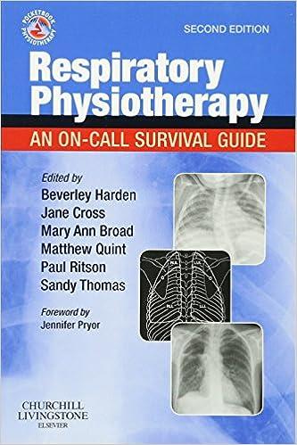 Descargar Libros Gratis En Respiratory Physiotherapy: An On-call Survival Guide, 2e Formato Kindle Epub