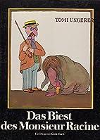 Das Biest des Monsieur Racine. Deutsch Hans…