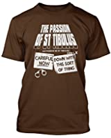 FATHER TED INSPIRED PASSION OF ST TIBULUS T-shirt, Mens