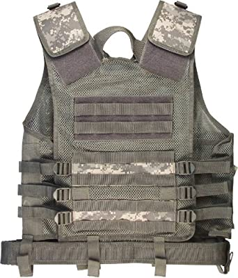 ACU Digital Camouflage Cross Draw Tactical Vest