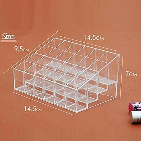 titulaire rouge; Les 40 espaces Hblife rouge vif /& agrave; Le stand de maquillage organisateur