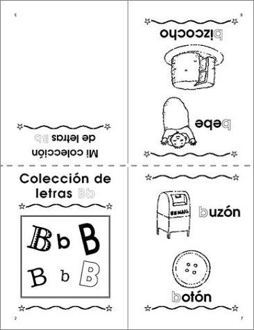 Amazon.com: 29 Spanish Alphabet Mini-books (9780439244428): Mary ...