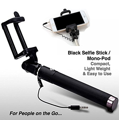 pocket sized cable monopod this compact foldable selfie stick with 270 degree rotation phone. Black Bedroom Furniture Sets. Home Design Ideas