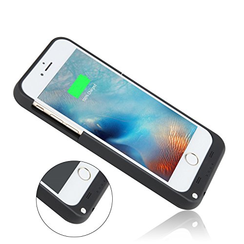 iPhone 6 6S Battery CasePeyou 3200mAh Lightning Charging Interface Charging instance For Apple iPhone 6 6s 47 Inch trim Extended Backup Charger power Bank Cover by using Kickstand Battery Charger Cases