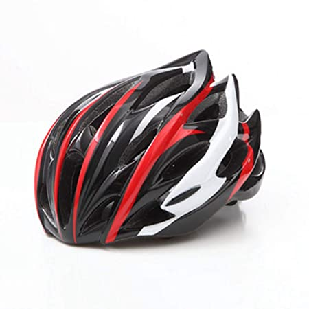 HS-GUANLY Triatlón con Insect Net PC EPS Gorra De Bicicleta Casco ...