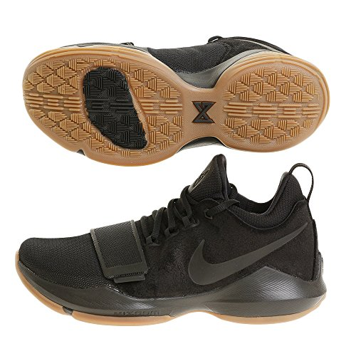 Nike Mens Pg 1 Ep, BLACK/BLACK-ANTHRACITE-GUM LIGHT BROWN BLACK/BLACK-ANTHRACITE-GUM LIGHT BROWN
