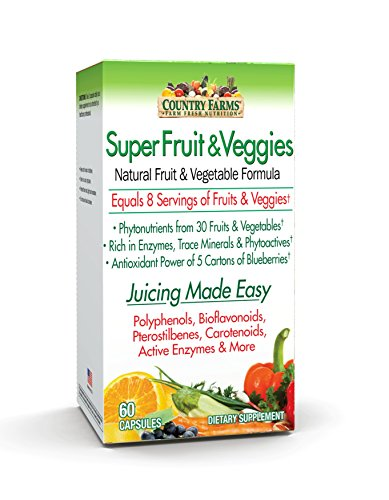 Country Farms Fruits Veggies Capsules