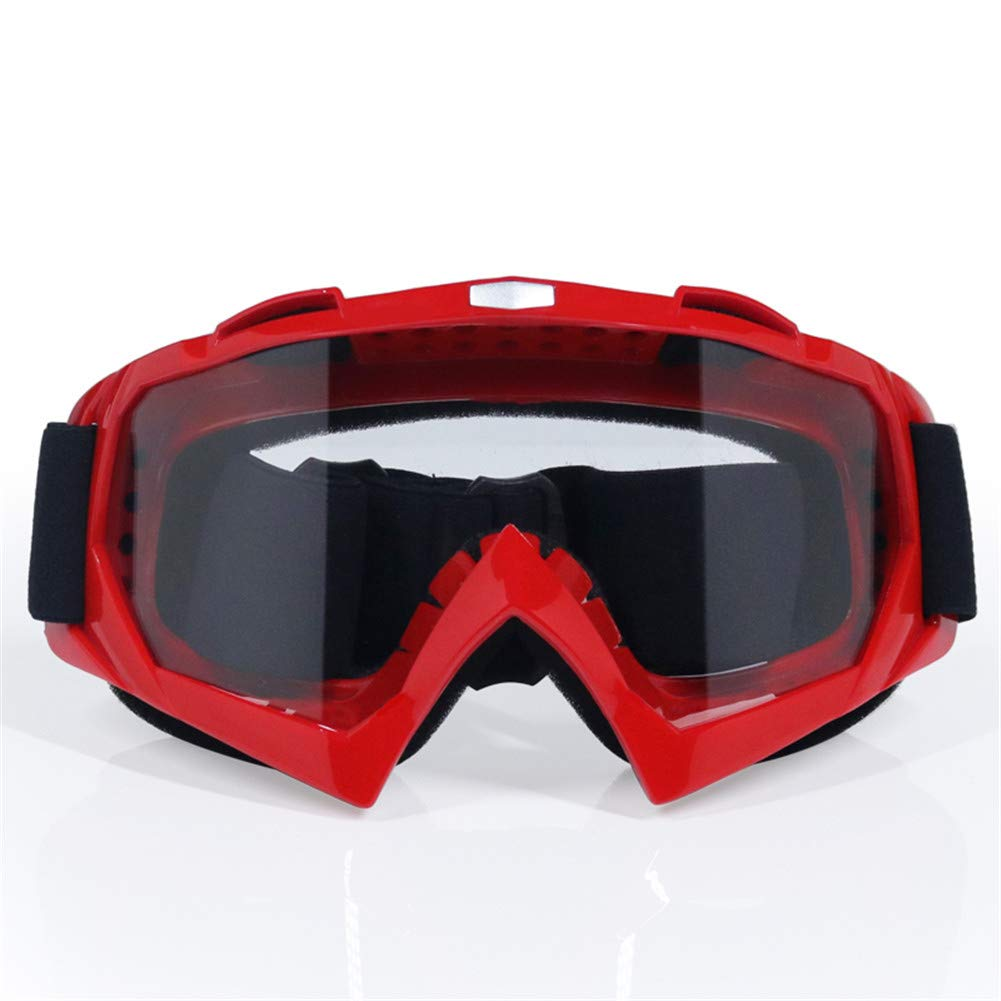 Motorradbrillen Schutzausr/üstung Flexible Cross Helm Gesichtsmaske Motocross Brillen ATV Dirt Bike Eyewear Gear Brille