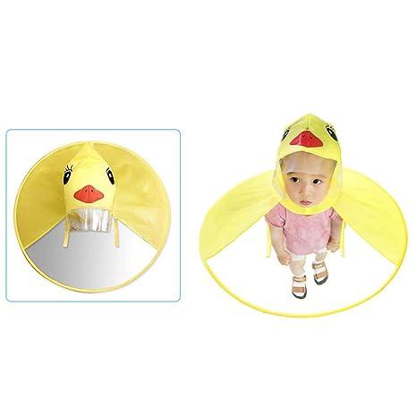 Chubasquero para niños Chubasqueros OVNI Manos Libres Bebé ...