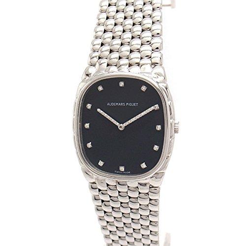 [オーデマピゲ]AUDEMARS PIGUET 腕時計 K18WG 手巻き 12Pダイヤ メンズ 中古 [並行輸入品] B07BYTZL99