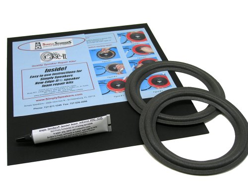 Advent Speaker Foam Edge Repair Kit, 6-1/2'' Baby Advent, Advent Laureate, FSK-6.5 by Simply Speakers