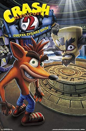 Trends International Crash Bandicoot 2 - Key Art Wall Poster, Multi (Crash Bandicoot N Sane Trilogy 2 Player)