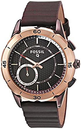 Amazon.com: Fossil Q Modern Pursuit Gen 2 Women's Wine Leather ...