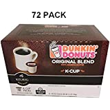 Dunkin Donuts K-Cups Original Flavor - 72 Pack
