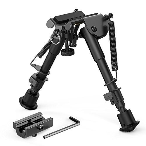 Accessories Hmr 17 (XAegis 2 in 1 Bipod 6 Inch to 9 Inch Adjustable Height Rail Mount Adapter Included)