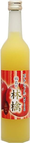 日本果実加工 福島の林檎ふじ 500ml ×3本